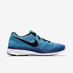 Nike Flyknit Lunar 3 Zapatillas De Running Mujer Royal Juego/Turquesa Neo/Azul Universitario/Negro 698182-403