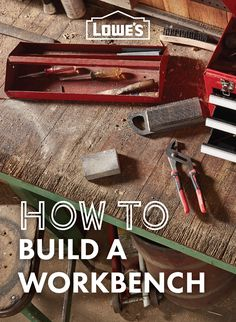 Learn how to build this workshop essential, the workbench! ​