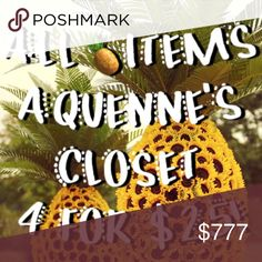 All 🍍items 4 for $25! Bundle any 4 listings with 🍍in the title and offer me $25, I will automatically accept 😀  If you see more 🍍items you like, just add $5 per additional item to your offer! PINK Victoria's Secret Accessories