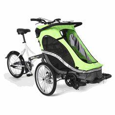 Llevar al bebé en bicicleta de maneras diferentes