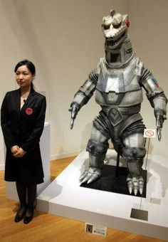"""""""Hideaki Anno's Tokusatsu Museum"""" opened at the Museum of Contemporary Art Tokyo this week, with the tokusatsu fanboy turned Evangelion creator curating a look at the artifacts from Jap Hideaki Anno, Pokemon Dragon, Anime News Network, Museum Of Contemporary Art, Movie Props, Japanese Culture, Godzilla, Sci Fi, Batman"""