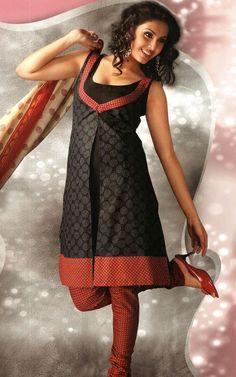 salwar designs n patterns: churidar kurta