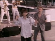 UB40 Featuring Chrissie Hynde - I Got You Babe. nothing beats sonny & cher's original, but this just makes me smile.