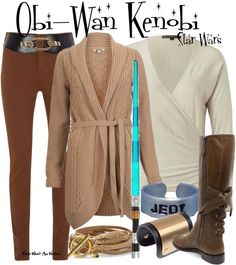 Inspired by Star Wars character Obi-Wan Kenobi played by both Alec Guinness and Ewan McGregor in the Star Wars franchise.