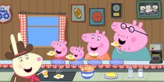Papa Pig, Peppa Videos, Peppa Pig Memes, Peppa Pig Teddy, Rabbit Gif, George Pig, Pig Birthday, Pig Party, Flying Pig