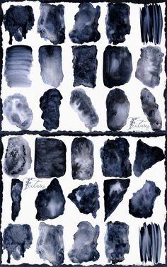 #Ocean #Blue #Navy #Grey #Digital #Textures #Watercolor #Wedding #Stationary #Branding #Abstract