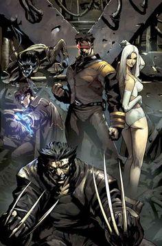 X-Men by Pat Lee