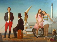 Painting by Bo Bartlett