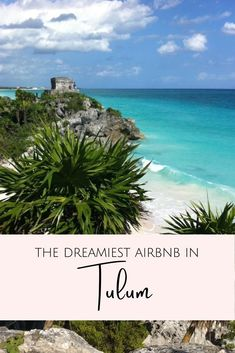 Where to stay in Mexico? Let me introduce you to the dreamiest Tulum Airbnb - for honeymooners, digital nomads & wanderers. Tree houses, jungle villas, beach condos, and chic rooms in Tulum town as well as Tulum Playa. As well as tips on how to book your Airbnb in Tulum. #mexico #tulumAirbnb in Tulum | Tulum Mexico Airbnb | Best Airbnb in Tulum | Rental houses in Tulum | Where to stay in Tulum | Tulum Accommodation | Where to stay on Tulum beach Mexico Trips, Tulum Mexico, Mexico Travel, Restaurant On The Beach, Tulum Beach, Mayan Ruins, Beach Condo, Baja California, Instagram Worthy