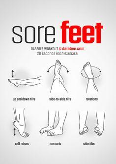 Sore Feet workout.