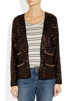 By Malene Birger | Seconda sequined crepe jacket $795