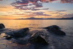 Rocks and Sunset by Scott Ternan on 500px