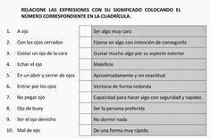 Cerebro Activo: Relaciona expresiones #salud http://blgs.co/r0d63A