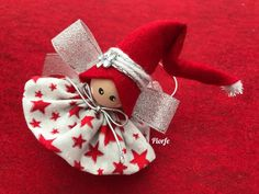 Best 12 Trillino by Laura Tosi – SkillOfKing. Diy Christmas Angel Ornaments, Christmas Fairy, Etsy Christmas, Christmas Angels, Christmas Tree Decorations, Christmas Poinsettia, Christmas Projects, Holiday Crafts, Christmas Crochet Patterns
