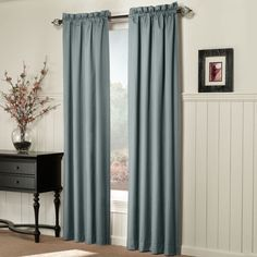 jcp | Sun Zero™ Emory 2-Pack Room-Darkening Rod-Pocket Curtain Panels