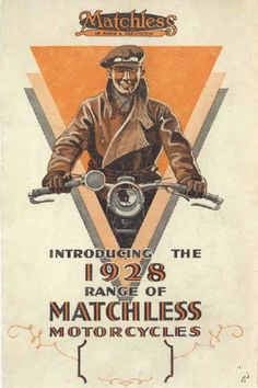 Matchless ad