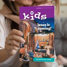 A magazine for Catholic kids ages 2-6. Build up your domestic church as you follow the liturgical year! Jesus Is Coming, Catholic Kids, Magazines For Kids, Kids Learning, Pray, Kindergarten, Preschool, Faith, Teaching
