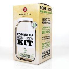 KBBK Kombucha Home Brew Kit....the first kit I used when learning to brew kombucha