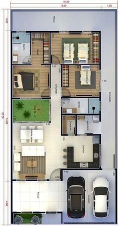 Sims House Plans, House Layout Plans, New House Plans, Dream House Plans, Small House Plans, House Layouts, House Floor Plans, Home Design Floor Plans, Home Building Design