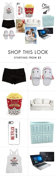 """Netflix & Chill"" by shariellstyles ❤ liked on Polyvore featuring L'Agence, Yikes Twins, West Bend, Casetify and ASUS"
