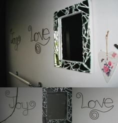 broke my mirror..... so made a new one