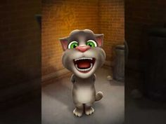 Tanti Auguri Cristian - YouTube Talking Tom Cat, Star Gif, Funny Tom, Funny Parrots, Star Work, Cute Songs, Cartoon Characters, Fictional Characters