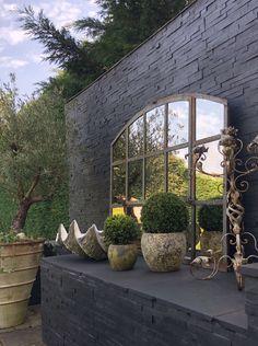 Aldgate Home collection Garden Mirrors, Gray Color, Colour, Home Collections, Reflection, Garden Ideas, Restoration, Romance, Wall Decor