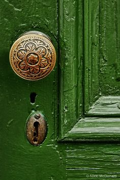 Green Door...