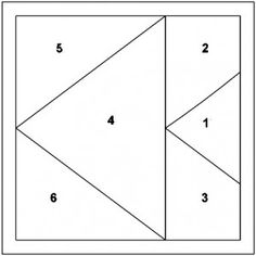 Paper Piecing Pattern Free