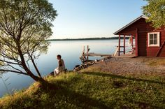 Price from Cottages to rent in Finland: LakeLand - Lapland - Helsinki. Holidays In Finland, Finland Summer, Helsinki, Cheap Cottages, Fairytale House, Summer Books, Lake Cabins, Europe, Sauna