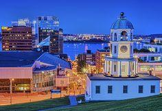 Halifax, Nova Scotia Clock Tower by Philip Rice on O Canada, Canada Travel, Canada Trip, Halifax Citadel, Canada Pictures, Atlantic Canada, Cape Breton, Princess Cruises, Prince Edward Island