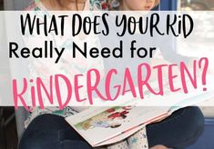 School Supplies for Kindergarten: What Your Kid Really Needs! (2020) - lw vogue Kindergarten School Supplies, Top School, Supply List, Vogue, Kids, Young Children, Boys, Children, Children's Comics