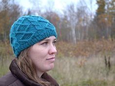 Ravelry: Alaina Beanie pattern by Jen Eastin