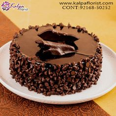 Winni offers you the best chocolate cake, which is extremely delicious and tempting. A birthday, an anniversary, or any other occasion is co Cake Home Delivery, Birthday Cake Delivery, Online Cake Delivery, Birthday Cake Video, Online Birthday Cake, Choco Truffle Cake, Tasty Chocolate Cake, Chocolate Cake Designs, Butterscotch Cake