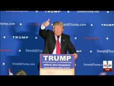 """Donald Trump Rally Milford New Hampshire – 7:00pm Live Stream… 
