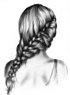 New hair braids drawing kristina webb Ideas Kristina Webb, Drawing Hair Braid, Girl Hair Drawing, Drawing Girls, Hair Styles Drawing, Cute Drawings Of Girls, Long Hair Drawing, Manga Drawing, Drawing Sketches