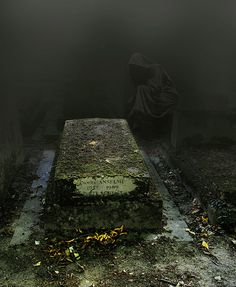 Père Lachaise Cemetery, the largest cemetery in Paris, France; it is the most visited cemetery in the world and is said to be one of the most haunted cemeteries in Europe (by nora ver).
