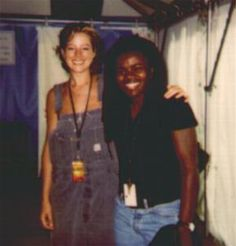 Tracy Chapman and Sarah McLachlan at the Lilith Fair tour 1997  Saw them at Shoreline!!  Freaking amazing gathering of ladies.  Also included Jewel, Paula Cole, Suzanne Vega, etc.