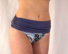 This grey Bikini Band attaches to any bikini bottom!