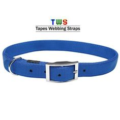 Shop the latest dog collars at Tapes Webbing straps. It makes your dog safe and give him a fun one-of-a-kind look with a nylon dog collar. For more details click on the below link or call us on +9833884973/9323558399 http://tapeswebbingstraps.in/product-category/dog-collars/