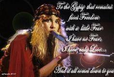 Stevie Nicks Gypsy wallpaper