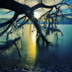 Peaceful but Strong Land #scandinavia #sweden #norway #frozenlake #frozensea #vikings #got #lotr #gameofthrones #frozenlandscape