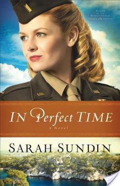 """""""In Perfect Time is the captivating conclusion to the riveting Wings of the Nightingale series. Sarah Sundin's masterful storytelling and endearing characters captured my heart and attention with the very first book, With Every Letter. Her characters and settings leap from the pages, allowing me to walk the journey, seeing, touching, smelling, experiencing everything with my own senses."""" ~Elizabeth Olmedo - Life Is Story"""