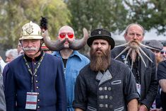 The world's most epic beards and moustaches just competed in an epic event