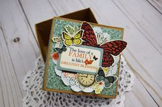 Our Family Gift Box by Becki Adams for #CartaBellaPaper