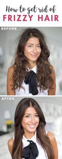 Annoyed by your constantly frizzy hair? Here's how to tame it (5 tips).
