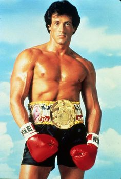Sylvester Stallone. All the rocky movies did not disappoint