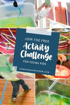 Sign up to get 7 days of simple, no-prep activities for toddlers and preschoolers to do at home. Use supplies you already have. Keep the kids busy and make memories! Outdoor Activities For Kids, Preschool Learning Activities, Preschool At Home, Preschool Curriculum, Preschool Lessons, Sensory Activities, Toddler Preschool, Preschool Activities, Kids Learning