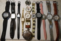 Wholesale Lot of 10 Unisex Watches pcs) 10 pcs Cool Watches, Jewelry Watches, Unisex, Leather, Accessories, Ebay