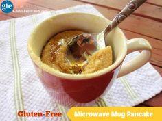Gluten-Free Microwave Mug Pancake Gluten Free Easily